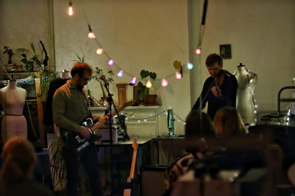 Studio concert