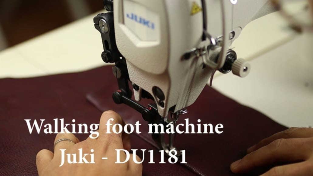 Walking foot. JUKI DU1181N